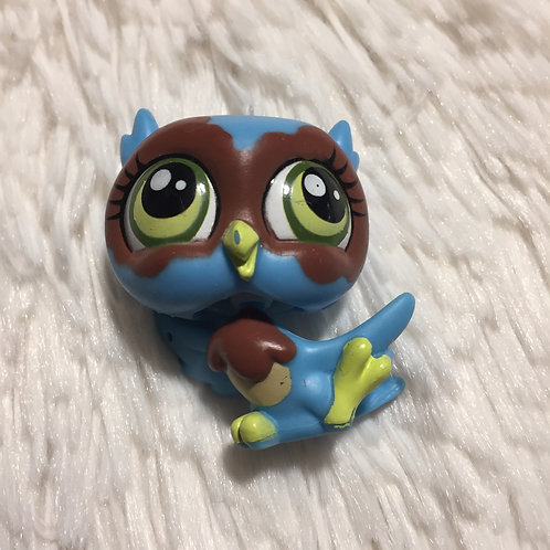 LPS Authentic Owl Bird