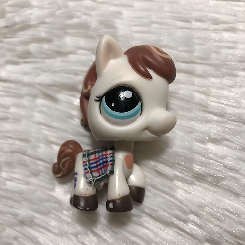 LPS Authentic Pony Horse & Accessory