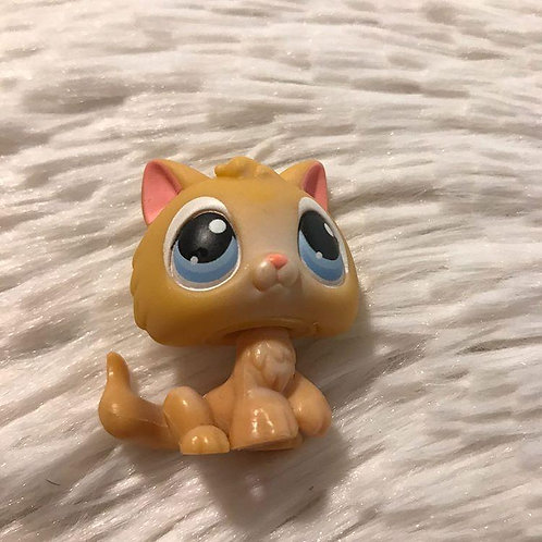 RARE LPS Authentic Kitten Cat