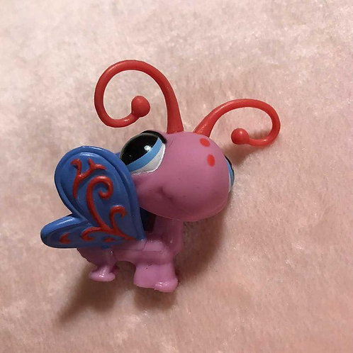 RARE LPS Authentic Butterfly Bug