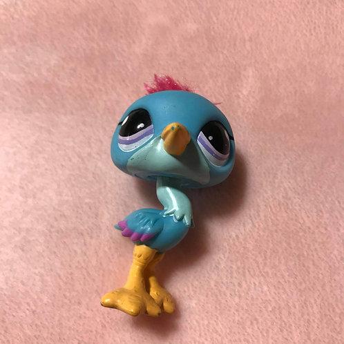 RARE LPS Authentic Ostrich Bird