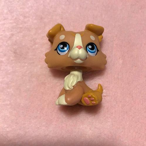 FAKE LPS Lover Collie Puppy Dog