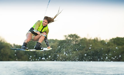 Second Chance Touring & Residential Park - Cotswolds Water Park Wakeboarding Image