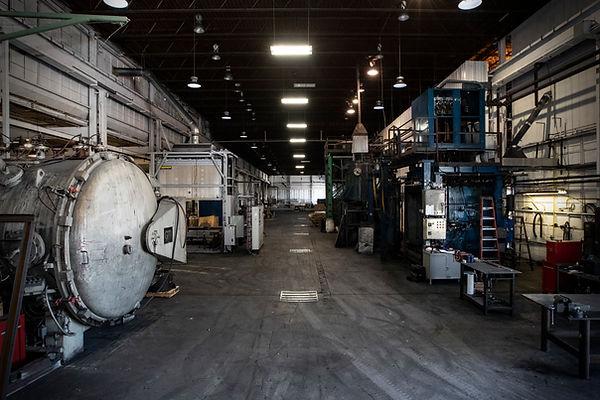 bay composites shop furnace