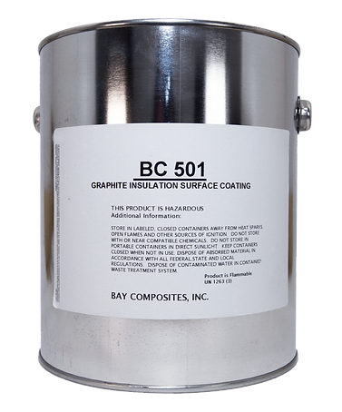 bay composites graphite insulation surface coating grafite