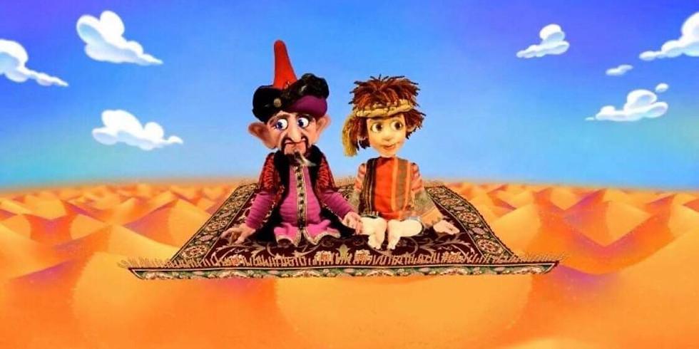 """Берн - спектакль """"Аладдин"""" профессионального кукольного театра www.koekla.nl"""