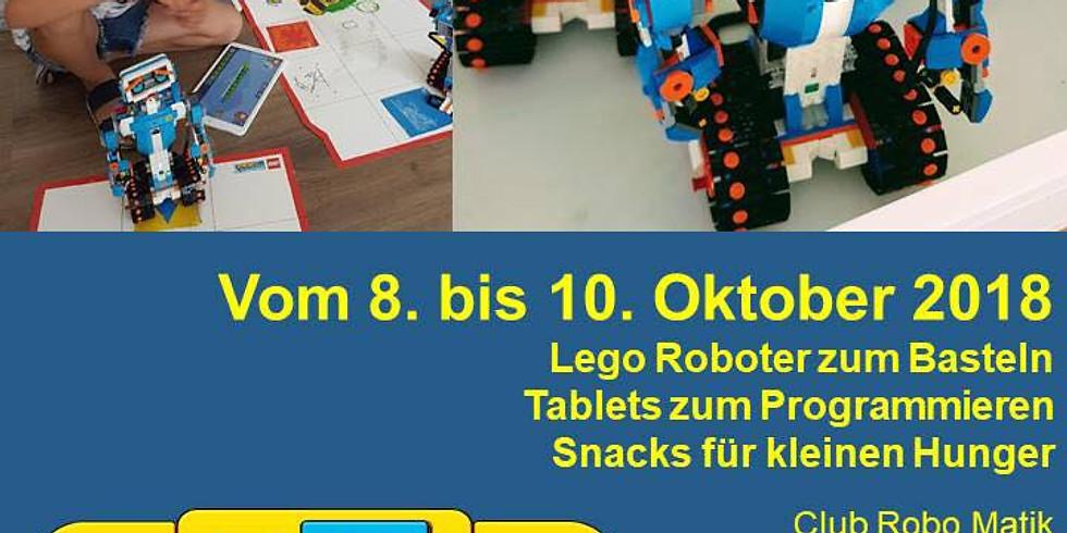 Каникулы с LegoBoost - осень 2018