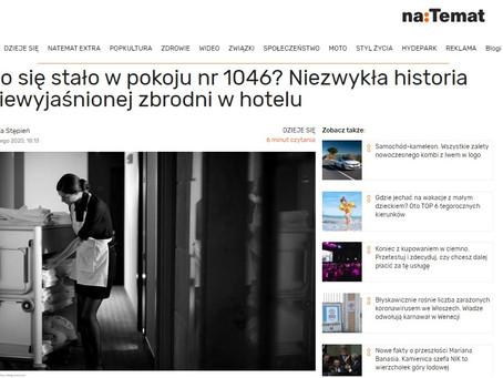 Co się stało w pokoju nr 1046? Niezwykła historia niewyjaśnionej zbrodni w hotelu - NaTemat