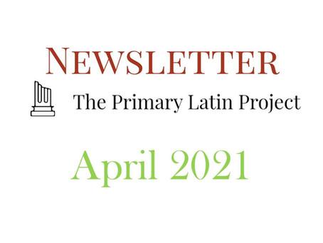 PLP Newsletter April 2021