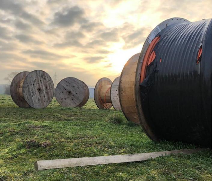 Totaal lengte van alle kabels is 78.354 meter
