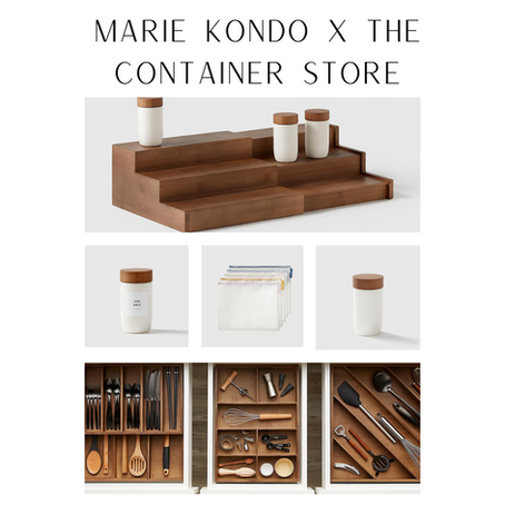 Best Pieces From The Marie Kondo Container Store Collection