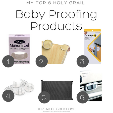 My Top 6 Holy Grail Baby Proofing Products