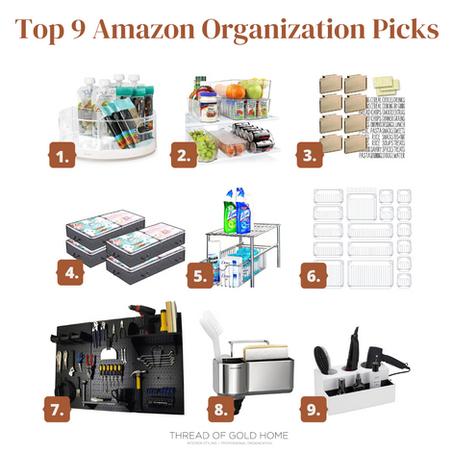 My Top Amazon Organization Picks!