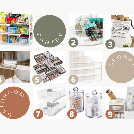 Get Organized Gift Guide- Kick Off Your New Years Resolutions With These Storage Solutions!