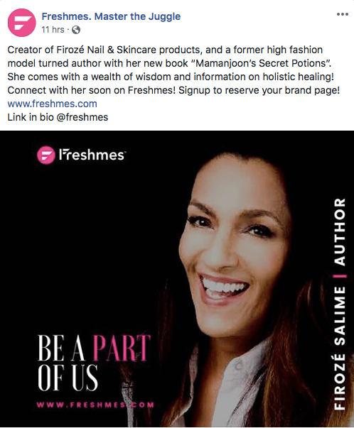 Honored to be Featured By Freshmes