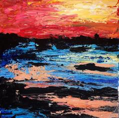acrylic on canvas. 11x14.  original price: 100$ sale price: 60$