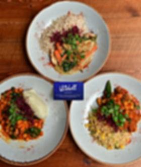 Our Restaurants healthy meal prep thai green curry