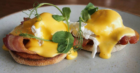 Eggs Benedict swansea cafe
