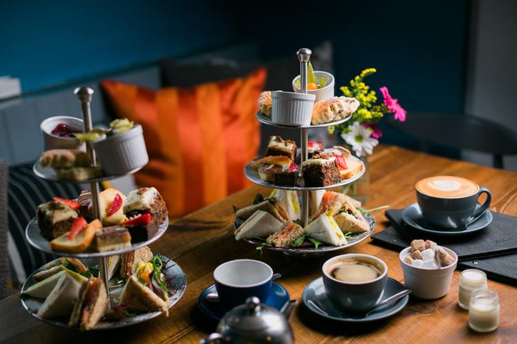 Afternoon Tea Bluebell Swansea