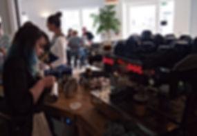 Bluebell Restaurants Swansea Coffee Making