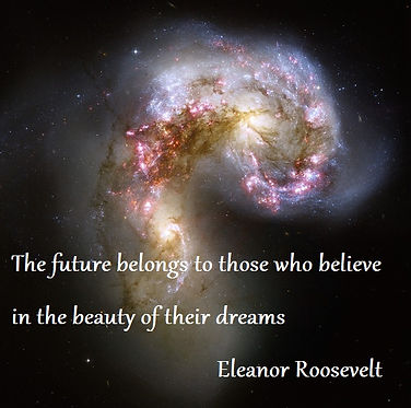 Inspirational quotes The future belongs to those who believe in the beauty of their dreams, Eleanor Roosevelt Quotes, future quotes, self-belief quotes, dream quotes, tarot reading dublin