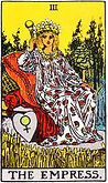 The Empress Tarot, The Empress tarot reversed, Tarot card meanings, Online Tarot, Love Tarot, Major Arcana, Empress tarot, The Empress tarot card reversed, The Empress tarot meaning, The Empress tarot reading, Tarot Empress meaning, tarot card reading,