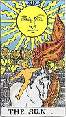 The Sun Tarot card upright and reversed meaning by The Tarot Guide, Major Arcana, The Sun Tarot, Tarot card meanings, The Sun Tarot card, The Sun Tarot meaning, The Sun Tarot reading, Tarot The Sun, The Sun reversed, The Sun Tarot reversed, Tarot reading