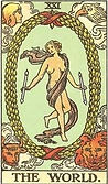 The World Tarot card upright and reversed meaning by The Tarot Guide, Major Arcana, The World Tarot, Tarot card meanings, The World Tarot card, The World Tarot meaning, The World Tarot reading, Tarot The World, The World reversed, The World Tarot reversed,