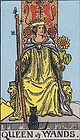 Learn how to read Tarot, Queen of Wands Tarot Card Upright and Reversed, Relationships, Love, Career, Money, Health, Spirit, Ireland, UK, USA, Canada, Australia, NZ, Online Tarot Reading, how someone sees you, feels about you, future, work, single, outcome, personality,
