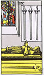 Four of Swords Tarot Upright Meaning by The Tarot Guide, Learn How to Read Tarot Cards, Minor Arcana, General Interpretation, Love, Relationships, Money, Finance, Health, Spirituality, Keywords, Tarot Reading, Tarot Readers, Psychic, Clairvoyant, Reiki, Palm, Online, Skype, Email, In-person Tarot Readings, Dublin, Ireland, UK, USA, Canada, Australia, How Someone Sees You, Feels About You, Job Offer, Feelings¸ Outcome