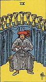 Nine of Cups Tarot card upright and reversed meaning by The Tarot Guide, Minor Arcana, Nine of Cups Tarot, Tarot card meanings, Nine of Cups Tarot card, Tarot Nine of Cups, Nine of Cups reversed, Nine of Cups Tarot reversed, Nine of Cups Tarot card