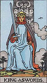 King of Swords Tarot card upright and reversed meaning by The Tarot Guide, Minor Arcana, King of Swords Tarot, Tarot card meanings, King of Swords Tarot card, King of Swords Tarot meaning, King of Swords Tarot reading, Email Tarot Reading, Tarot Skype,