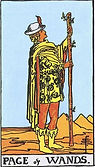 Page of Wands Tarot card upright and reversed meaning by The Tarot Guide, Minor Arcana, Page of Wands Tarot, Tarot card meanings, Page of Wands Tarot card, Page of Wands Tarot meaning, Page of Wands Tarot reading, Tarot card reading, Tarot reading,