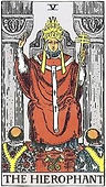 The Hierophant, Major Arcana, The Hierophant tarot, tarot card meanings, The Hierophant tarot card, The Hierophant tarot meaning, The Hierophant tarot reading, tarot card reading, tarot reading, free tarot, Tarot The Hierophant, The Hierophant reversed,