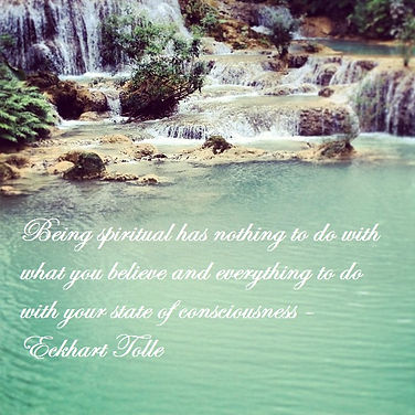 Being spiritual has nothing to do with what you believe and everything to do with your state of consciousness - Eckhart Tolle, Eckhart Tolle Quotes, Inspirational Quotes, Spiritual Quotes, Spirituality Quotes, State of Consciousness Quotes,