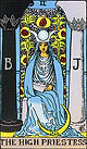 The High Priestess Tarot card upright and reversed meaning by The Tarot Guide, The High Priestess reversed, Major Arcana, High Priestess tarot, The High Priestess tarot card, The High Priestess tarot meaning, Reversed High Priestess Tarot, Tarot cards