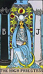 The High Priestess Tarot Upright Meaning by The Tarot Guide, Learn How to Read Tarot Cards, Major Arcana, General Interpretation, Love, Relationships, Money, Finance, Health, Spirituality, Keywords, Tarot Reading, Tarot Readers, Psychic, Clairvoyant, Reiki, Palm, Online, Skype, Email, In-person Tarot Readings, Dublin, Ireland, UK, USA, Canada, Australia, How Someone Sees You, Feels About You, Job Offer, Feelings, Outcome