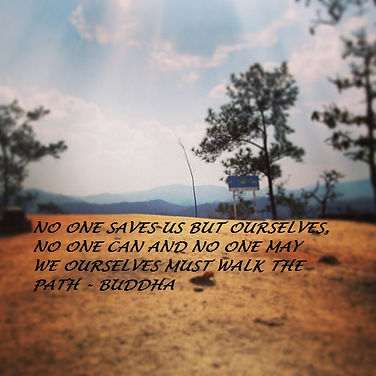 No one saves us but ourselves No one can and no one may We ourselves must walk the path Buddha, Buddha Quotes, Buddhism quotes, Buddhist quotes, Spiritual quotes, Spiritual quotes, Inspirational Quotes, Motivational quotes, Survival quotes