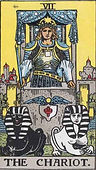 The Chariot, Major Arcana, The Chariot tarot, tarot card meanings, The Chariot tarot card, The Chariot tarot meaning, The Chariot tarot reading, tarot card reading, free tarot, Tarot The Chariot, The Chariot reversed, The Chariot Tarot reversed