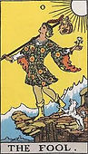 The Major Arcana, the fool, tarot the fool, the fool reversed, the fool tarot reversed, the fool tarot