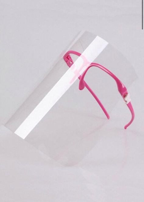 Face Shields w/ Glasses