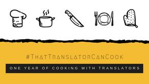 #ThatTranslatorCanCook: un an de cuisine avec des traducteurs