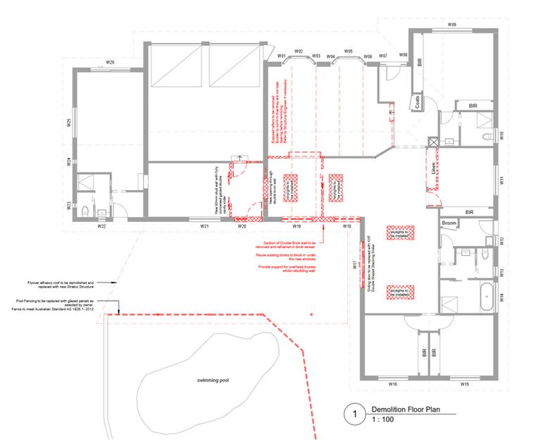 Demolition Floorplan