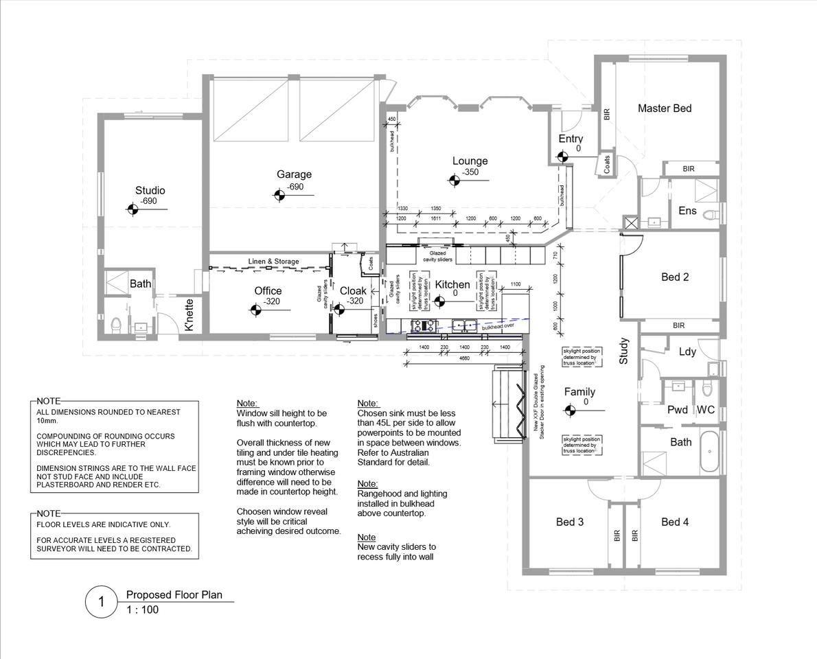 Proposed Floorplan