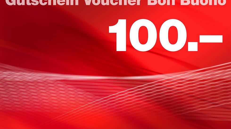 Mittagstisch Gutschein 100 CHF