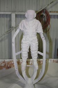 The process is then repeated daily for up to two weeks to ensure the mould is strong enough
