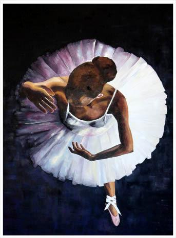 Bailarina desde el cielo