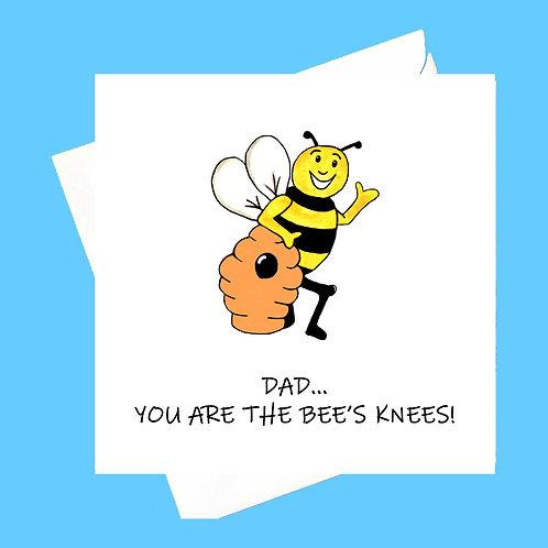 BEE'S KNEES DAD/DADDY/GRANDPA/GRANDAD