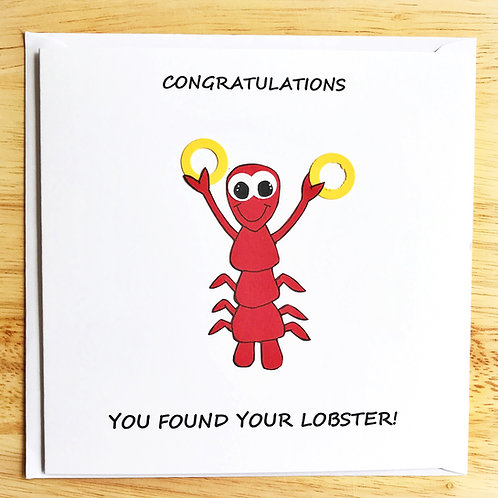 You Found your Lobster
