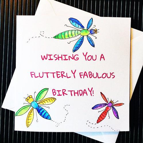 Flutterly Fabulous Birthday
